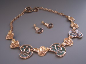 Succulent Necklace Holly Carter
